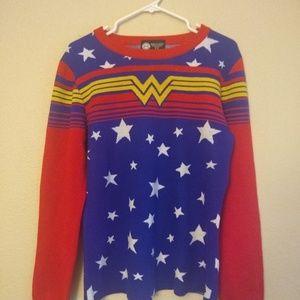 Wonder Woman Cozy Sweater